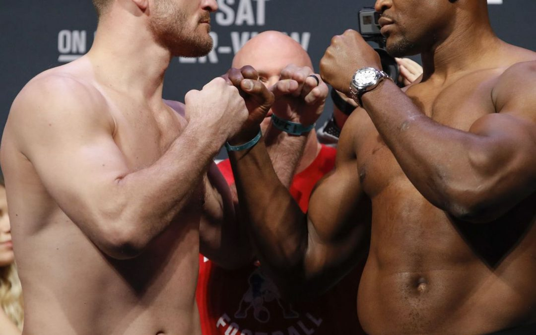 Heavyweight title picture moves forward at UFC 252