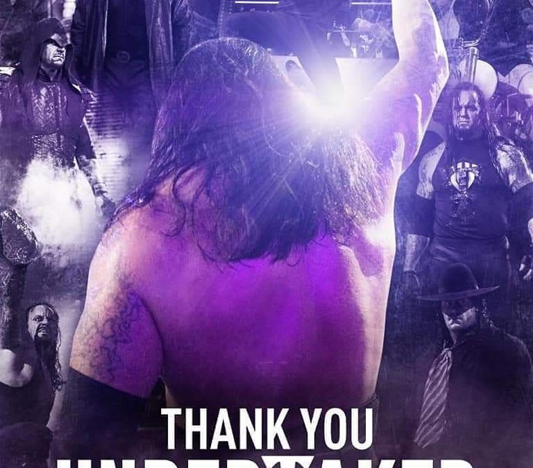 The Undertaker: 40 years of digging holes and taking souls.